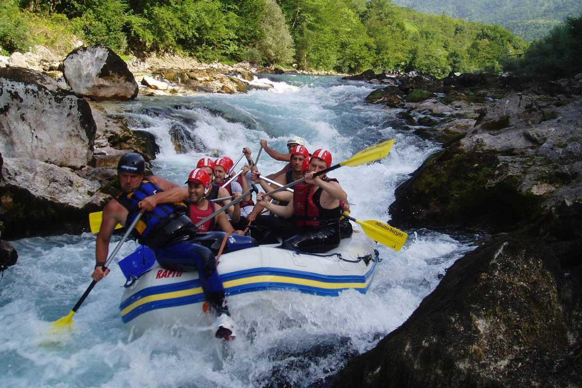 Rafting, Cetina