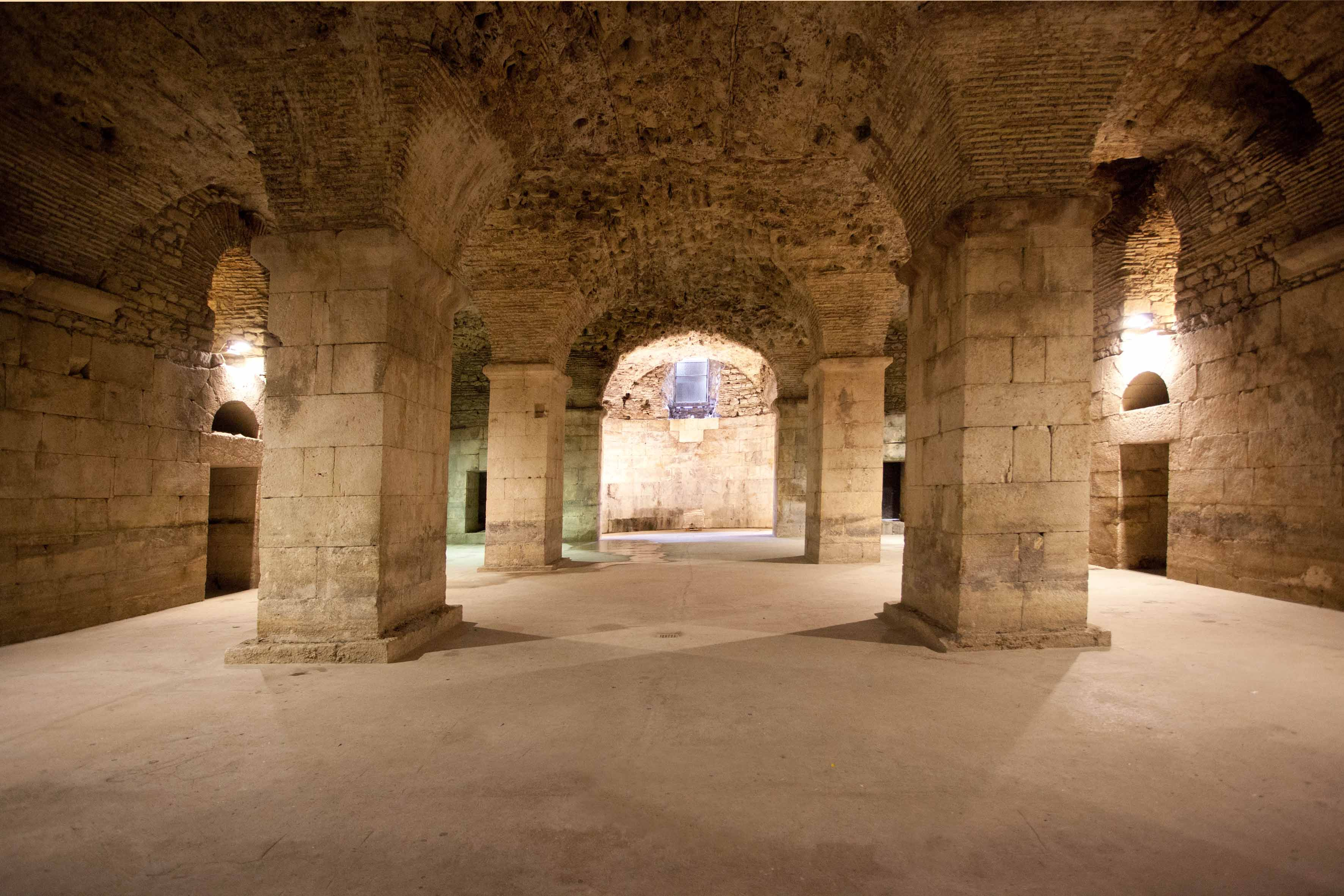 Diocletian basements