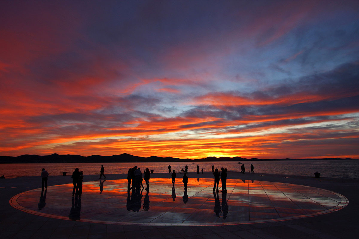 Zadar, Greetings to the sun